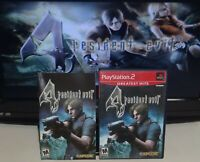 Resident Evil 4 PlayStation 2 PS2 Complete Tested SAME DAY SHIPPING
