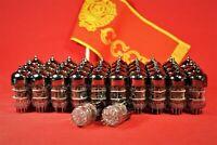 42 PCS 6N3P-E / 5670 / 2C51 / 396A / ECC42 Hi-Fi Vacuum Double triode tubes.1976
