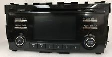 Nissan Altima CD MP3 Bluetooth SiriusXM radio. NEW factory stereo with blems