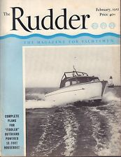 The Rudder February 1951 Plans for Diddler Outboard 032217nonDBE2