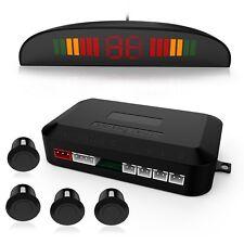 Parking Sensor Kit,Ultrasonic Car Vehicle Reverse Backup Radar System with 4 LED