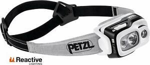 Petzl E095BA00 SWIFT RL 900 lumens Reactive Lighting Technology Black Open Box