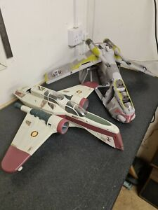 Star Wars Vehicles Arc 170 and Republic gunship