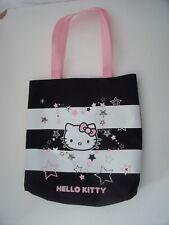 Hello Kitty Negro Y Blanco + Rosa Bolsa de la compra de material