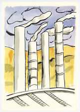 """Fernand Leger print from """"Mes Voyages"""" 33199"""