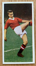 RARE BOBBY CHARLTON ROOKIE Card Cadet Footballers 1957-8 Manchester United MINT!