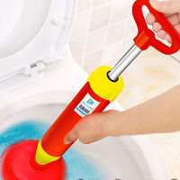 Home Improvement Knowledgeable Air Power Drain Blaster Gun High Pressure Powerful Manual Sink Plunger Opener Cleaner Pump For Toilets Bathroom Tool Dredge Plug