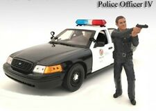 American Diorama 1/24 LAPD Style Police Officer Figure #4 - 24034