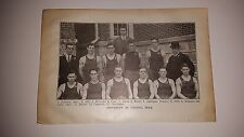 University of Virginia 1911-12 Basketball Team Picture