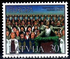 SELLOS TEMA EUROPA 1998 LETONIA MUSICA 1v.