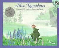 Miss Rumphius Story and Pictures by Barbara Cooney 9780140505399 | Brand New