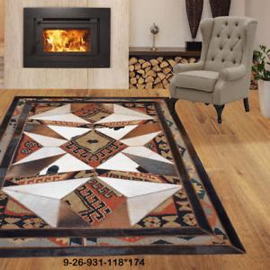 New floor rugs cowhide kilim rugs carpet patchwork Bohemian rugs online AU 9-26
