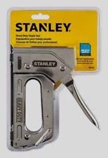 Stanley Heavy Duty Staple Gun Stapler Steel TR110 Uses Staples TRA700, T50 NEW!!