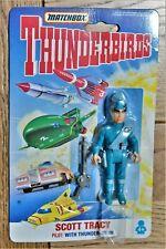 "Matchbox 1992 Thunderbirds 3 3/4"" Action Figures - Scott Tracey"