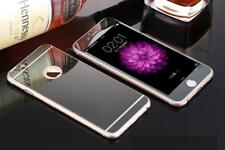 Front+Back Mirror Tempered Glass Screen Protector cover for iPhone 5 6 7 8 Plus