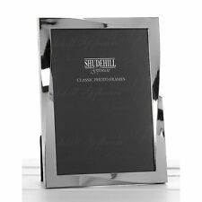 Polished Silver Twist 4 x 6 Frame Photo Pictures Anniversary Gift Novelty