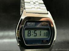 Vintage Seiko 0432-4020 LC Digital Watch  ORIGINAL BRACELET. -1976 JAPAN
