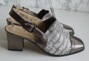 VAN DAL Ankle Strap Pump Heels Court Shoes Size UK 3.5 EU 36.5 NEW