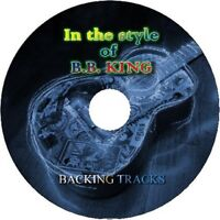 B.B.KING IN THE STYLE OF GUITAR BACKING TRACKS CD BEST GREATEST HITS MUSIC BLUES