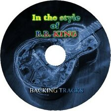 B.B.KING IN THE STYLE OF GUITAR BACKING TRACKS AUDIO CD BEST GREATEST HITS BLUES