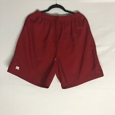 Vintage 90s  Russell Shorts Mens  Size Large Charcoal  Red