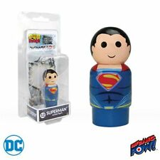 Justice League Movie Superman Pin Mate Wooden Figure
