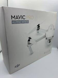DJI MAVIC PRO - ALPINE WHITE - Limited Edition Drone New Open Box - Read DESC