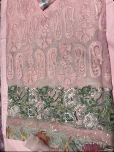 Unstitched Embroidered Salwar Kameez