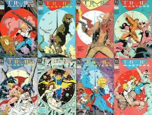 Time Masters Full Set Bob Wayne Art Thibert Rip Hunter Legends Tomorrow 1-8 NM