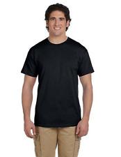 Gildan Plain Cotton T-Shirt Short Sleeve Solid Blank Design Tee Men Tshirt S-XL