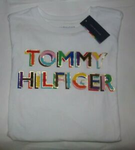 NWT MENS TOMMY HILFIGER S/S T-SHIRT~WHITE~SZ XXL