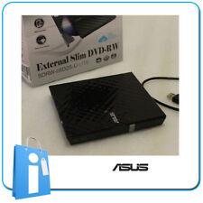 Grabadora DVD Portatil 8x Externa USB Slim ASUS SDRW-08D2S-U Grabador NEGRO