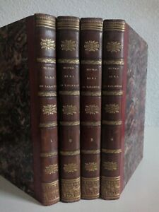 LAMARTINE Oeuvres complètes en 4/4 volumes 1834