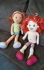 """Groovy Girls Plush Doll Lot of 2 - Spa Splendor & Roxette- VHTF 13"""""""