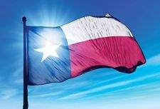 TEXAS FLAG Bandera de Texas Houston Rockets Dallas Cowboys San Antonio Spurs