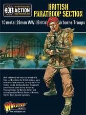 Bolt Action Britannique Parachutiste WarlordGames Model Kit