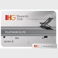 IHG Platinum Elite Status Upgrade,same day process 1 day,(THROUGH Dec 31 2020)