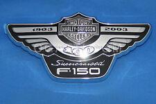 F150 HARLEY DAVIDSON EMBLEM BRAND NEW OEM FORD F-150 EMBLEM LH  #3L3Z-16720-AC