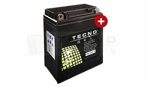 TECNO GEL-Marken-Batterie YB12AL-A2 f. APRILIA, BMW, KAWASAKI, YAMAHA (s. unten)