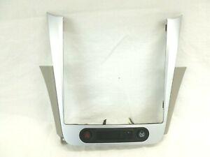 Chevrolet Malibu Radio Bezel Dash Vents Trim Silver / Gray Chrome 08 - 12