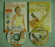 Weight Watchers Get Moving Mix + Start Getting Healthy (2 DVDs) workout/cooking