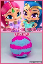 Shimmer and shine hidden toy bath bomb