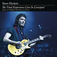 STEVE HACKETT - THE TOTAL EXPERIENCE LIVE IN LIVERPOOL  4 CD NEU