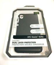 Incipio Dualpro Case/Cover for HTC Desire 626 / 626s in BLACK/BLACK Colors