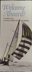 Vintage Brochure Welcome Aboard A Guide to the United States Naval Academy