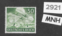 #2920    MNH stamp / 1943 /  PF30 + PF30 / Military Wehrmacht  / WWII Germany