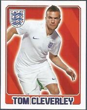 TOPPS ENGLAND 2014- #024-TOM CLEVERLEY