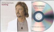 CHRIS NORMAN Waiting 2015 UK 1-track promo test CD