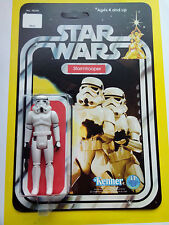 STORM TROOPER ACTION TOY CUSTOM RESTORED ONTO 12 BACK STARWARS NEW HOPE CARD