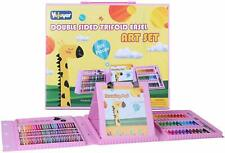Kids Art Set 169 Piece Painting & Drawing Art Supplies with Sketchpad Large Tri-